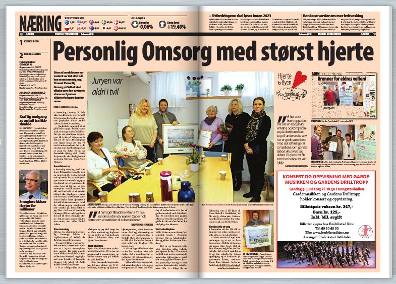 Personlig Omsorg med størst hjerte - byavisa 2. januar 2013